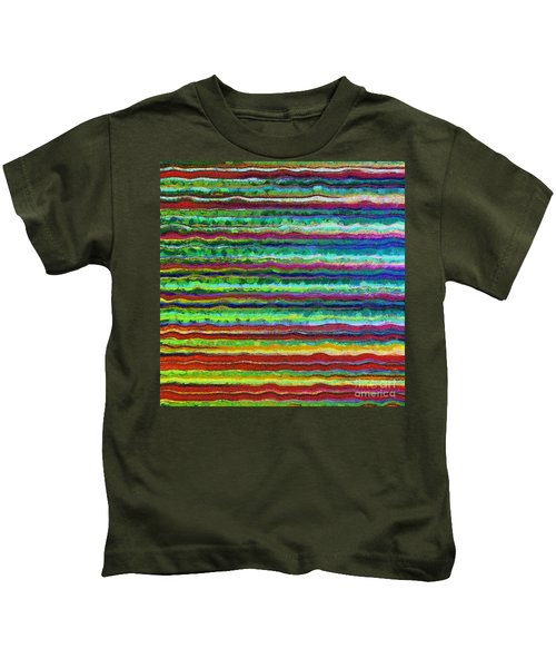 Abstract Lines 6 Kids T-Shirt