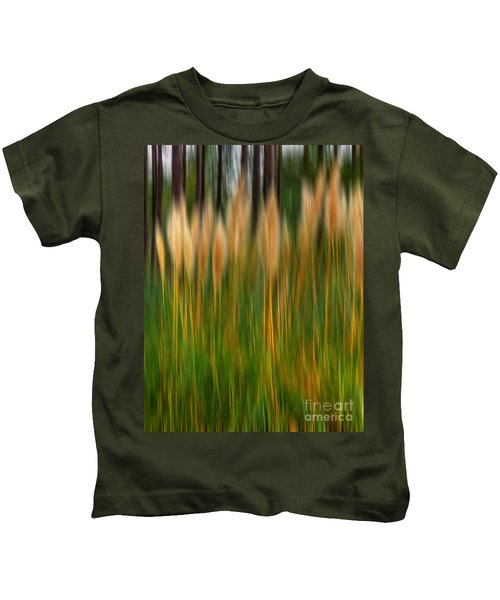 Abstract Of Movement Kids T-Shirt