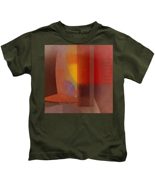 Abstract Tisa Schlemm 04 Kids T-Shirt
