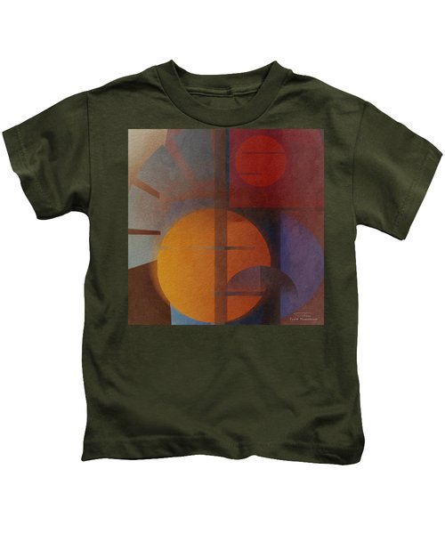 Abstract Tisa Schlemm 05 Kids T-Shirt