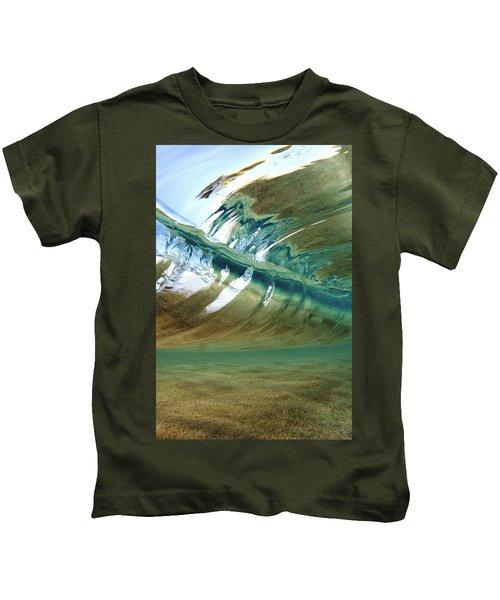 Abstract Underwater 2 Kids T-Shirt