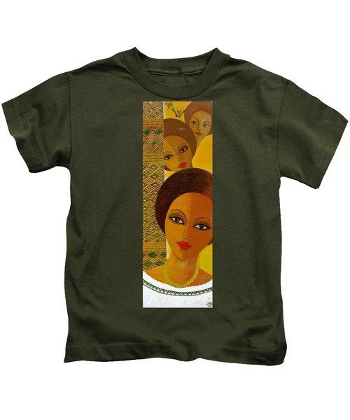 Afro Beauty Kids T-Shirt