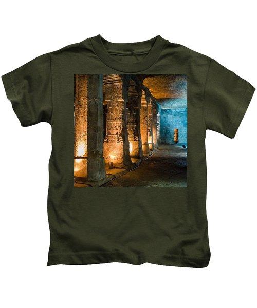 Ajanta Caves Kids T-Shirt
