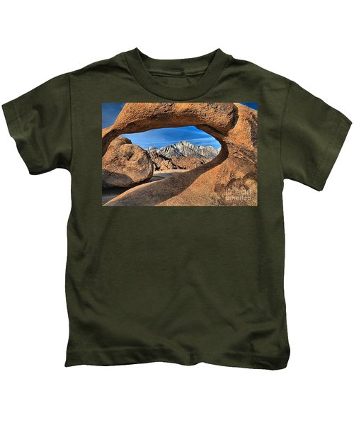 Alabama Hills Arch Kids T-Shirt