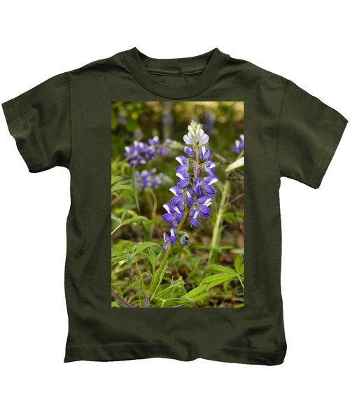 Alaskan Lupine In Denali Park Kids T-Shirt