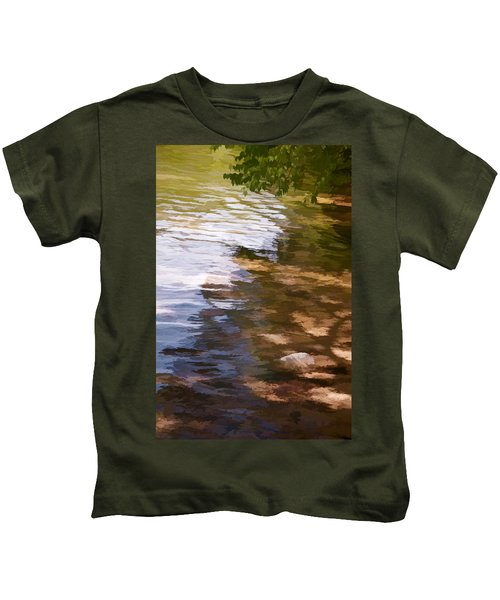 Along The Shore Kids T-Shirt