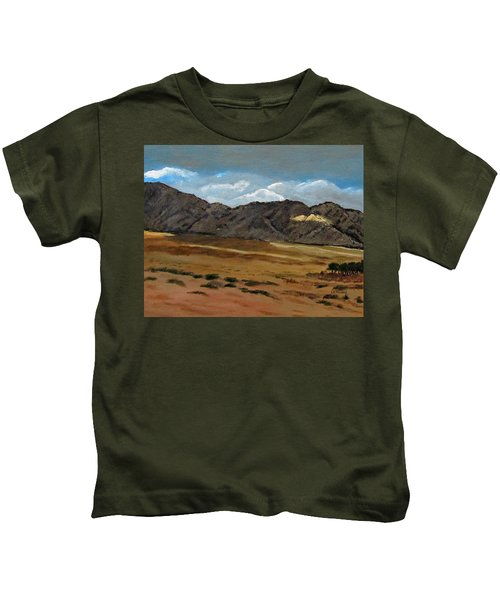 Along The Way To Eilat Kids T-Shirt