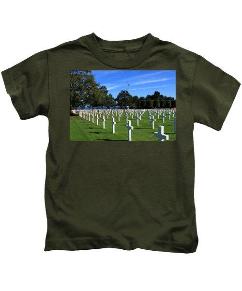 American Cemetery Normandy Kids T-Shirt