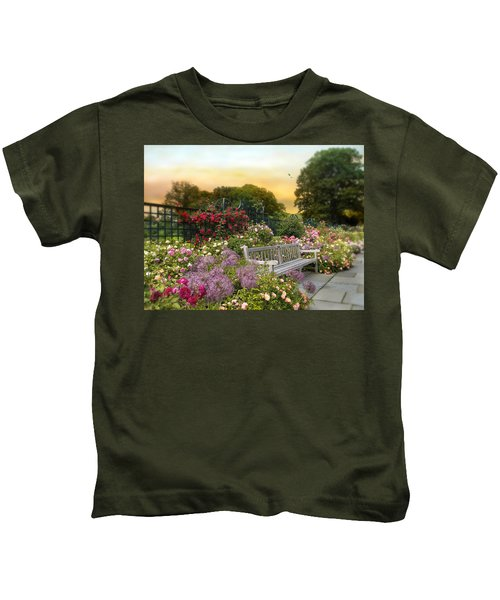 Among The Roses Kids T-Shirt