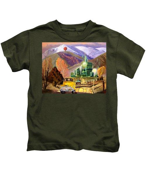 Trucks In Oz Kids T-Shirt