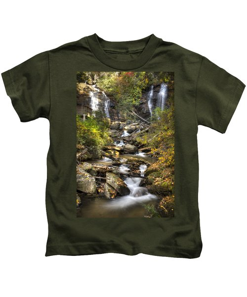 Ana Ruby Falls In Autumn Kids T-Shirt