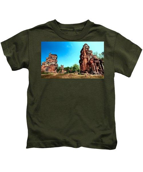 Angkor Wat Ruins Kids T-Shirt