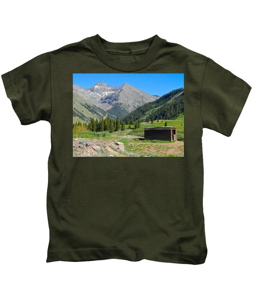 Animas Forks Jail Kids T-Shirt