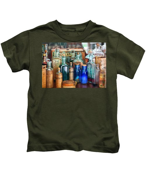 Apothecary - Remedies For The Fits Kids T-Shirt