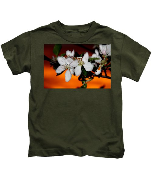 Apple Blossom Sunrise I Kids T-Shirt