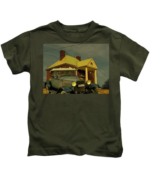 Approaching Storm Kids T-Shirt