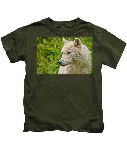 Arctic Wolf Pictures 241 Kids T-Shirt