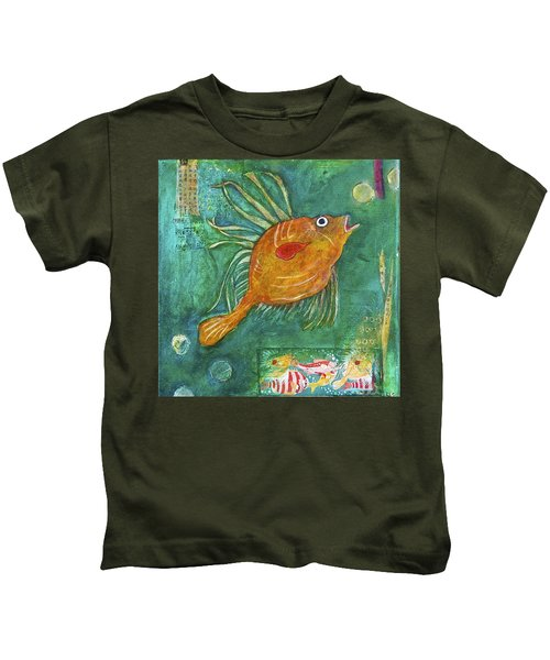 Asian Fish Kids T-Shirt