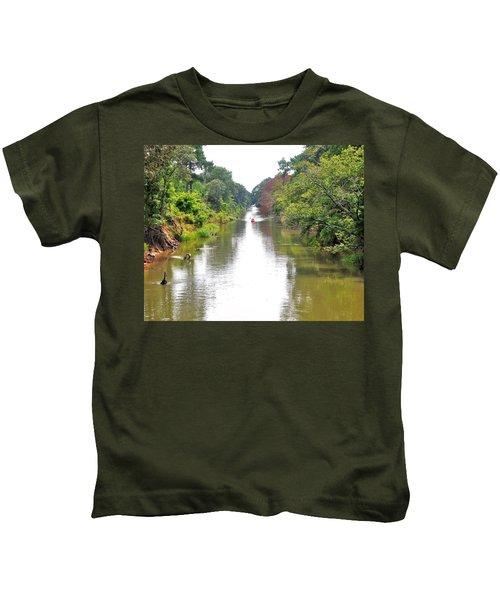 Assawoman Canal - Delaware Kids T-Shirt