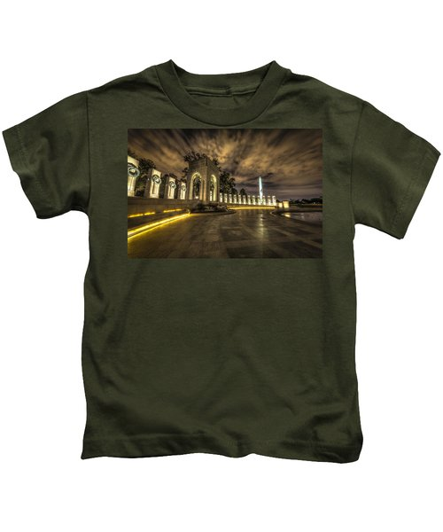 Atlantic Side Of The World War II Memorial Kids T-Shirt