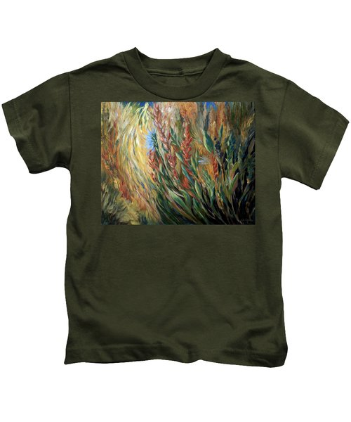 Autumn Bloom Kids T-Shirt