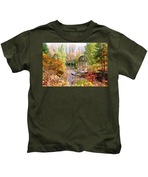 Autumn In Longwood Gardens Kids T-Shirt