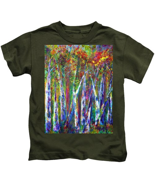 Autumn In Muskoka Kids T-Shirt