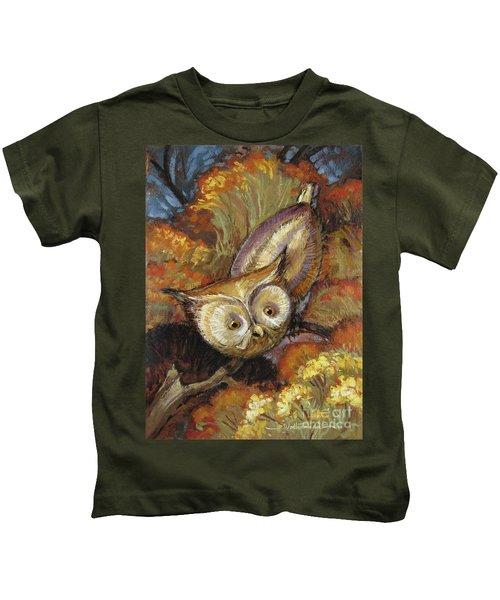 Autumn Owl Kids T-Shirt