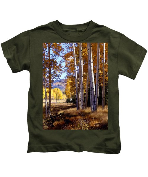 Autumn Paint Chama New Mexico Kids T-Shirt