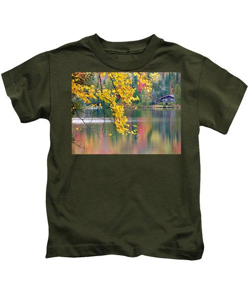 Autumn Reflection Kids T-Shirt