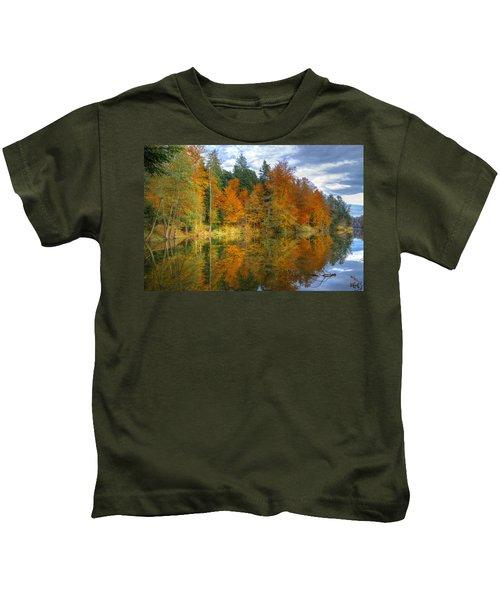 Autumn Reflection Kids T-Shirt
