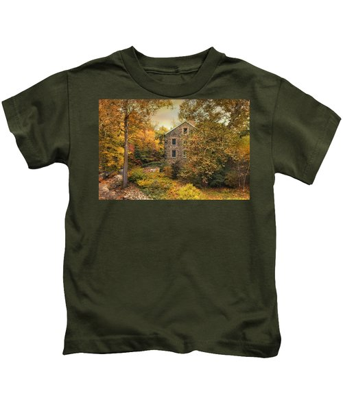 Autumn Stone Mill Kids T-Shirt