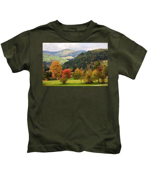 Autumnal Colours In Austria Kids T-Shirt