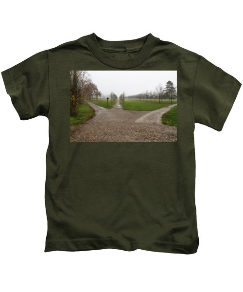 Autumnal Countryscape Kids T-Shirt