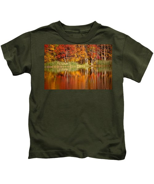 Autumns True Colors Kids T-Shirt