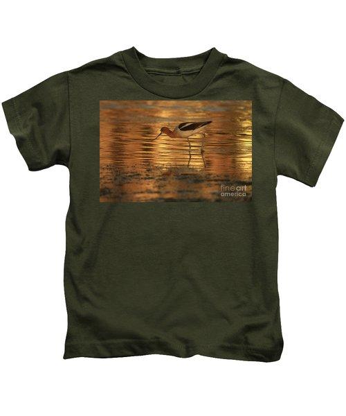 Avocet Gold Kids T-Shirt