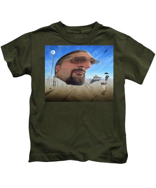 Awake . . A Sad Existence Kids T-Shirt