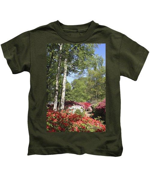 Azalea Flowers Kids T-Shirt