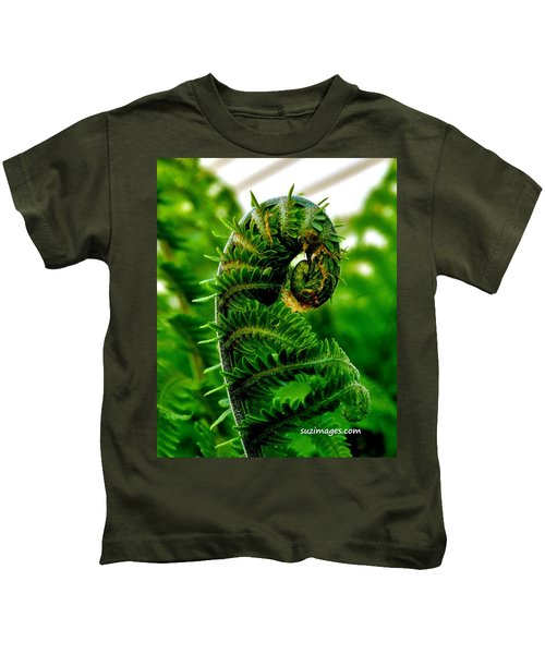 Baby Fern Kids T-Shirt