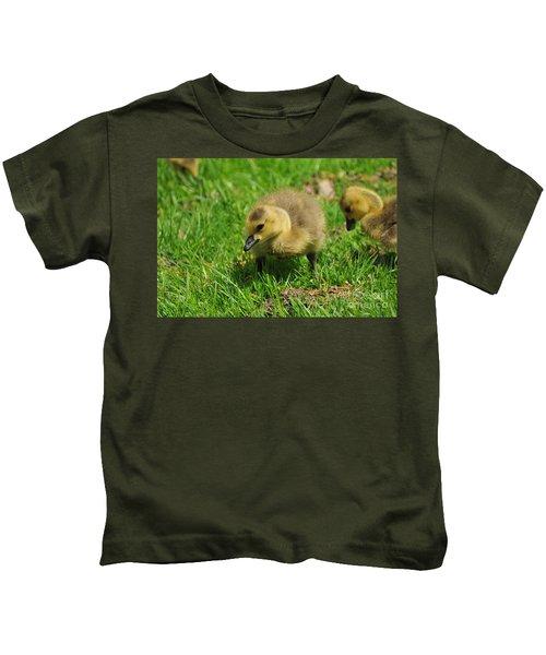 Baby Goose Too Cute Kids T-Shirt