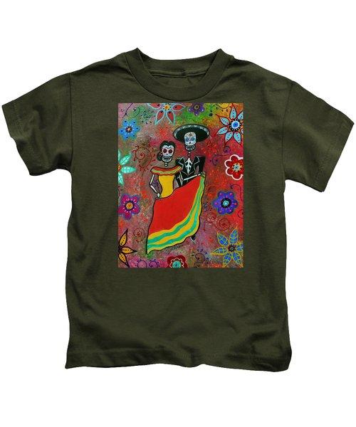 Bailar Couple Kids T-Shirt