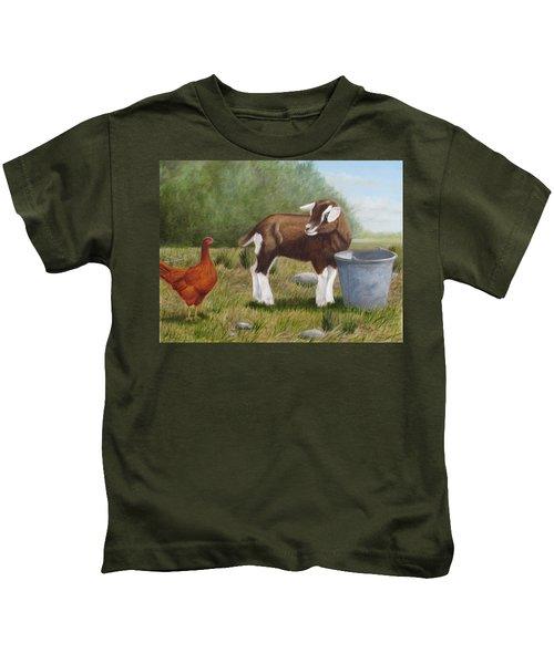Barnyard Talk Kids T-Shirt