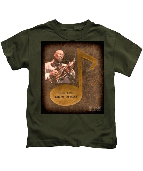 Bb King Note Kids T-Shirt