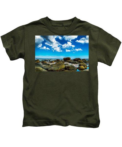 Beachfront Boulders Kids T-Shirt
