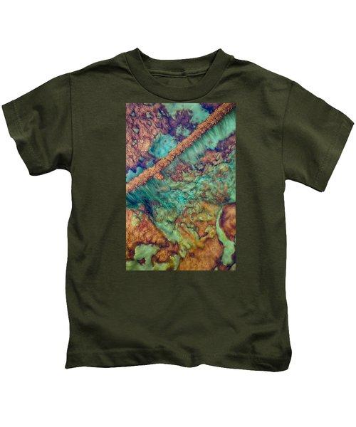 Beautiful Rebar Hot Springs Kids T-Shirt