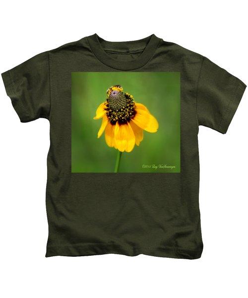 Bee My Coneflower Kids T-Shirt