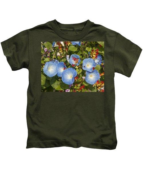 Bhubing Palace Gardens Morning Glory Dthcm0433 Kids T-Shirt
