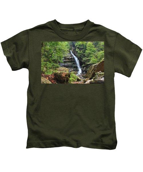 Big Bradley Falls Kids T-Shirt