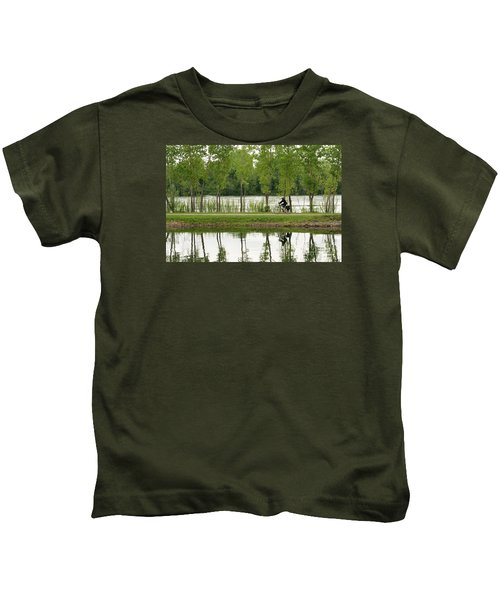 Bike Path Kids T-Shirt