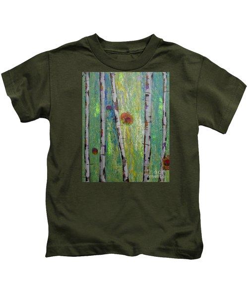 Birch - Lt. Green 5 Kids T-Shirt